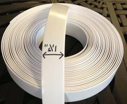 "1.5"""" Vinyl Strap For Patio Furniture Repair 45' Roll -COLOR"