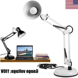 2 in1 Swing Arm Light Desk Lamp for Computer Table Bench Art