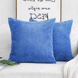HOME BRILLIANT 2 Packs Pillows Decorative Throw Pillows Cove
