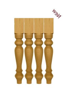 """29"""" Unfinished Farmhouse Table legs or matching 18'' Bench l"""