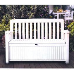 outdoor furniture storage deck box keter 60