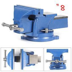 8 Inch Mechanic Bench Vise Table Top Clamp Press Locking Swi
