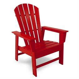 polywood adirondack chair--sunset red