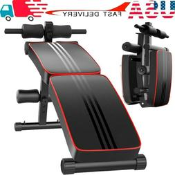 Adjustable Sit Up Bench Weight Bench Foldable Full Body Work