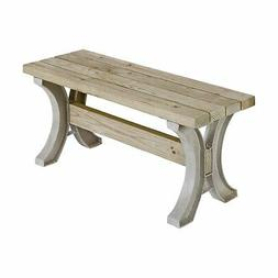 2x4 Basics AnySize Wooden Outdoor Furniture Décor End Table