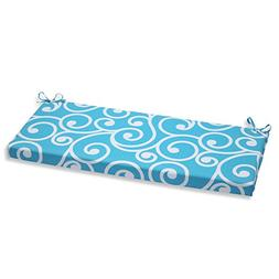 Pillow Perfect Outdoor Best Bench Cushion, Turquoise
