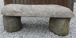 Bench Granite Black, Sitting, Outdoor Entry Way,  Park , #10