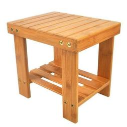 Children Bench Stool Bamboo Wood Color  ZZ
