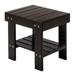 Children's Furniture Small Bench Home Rectangular Bamboo Sto