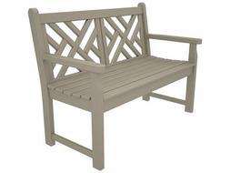 Chippendale 48-Inch Outdoor Bench