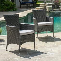 Clementine Outdoor Wicker Dining Chairs