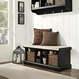 Crosley Furniture Brennan Entryway Storage Bench, Multiple C
