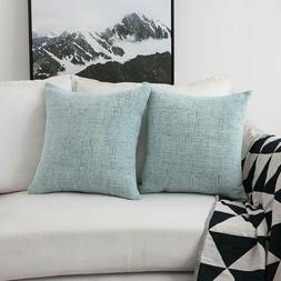 Home Brilliant Decorative Pillow Covers for Couch Throw Pill