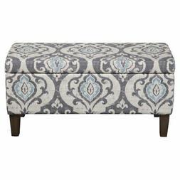 HomePop Decorative Storage Bench