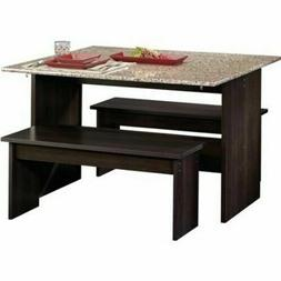 Dining Room Set Chairs Table Benches Trestle Small Kitchen H