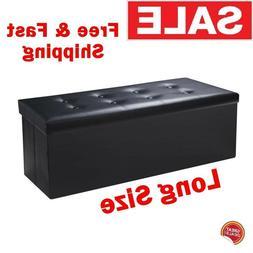 End Of Bed Storage Bench King Large Size Black 43 Long Moder