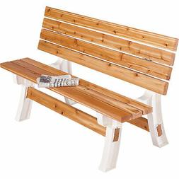 Folding Picnic Table Bench Kit Patio Outdoor Convertible Fli