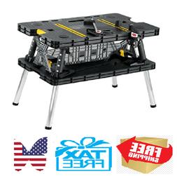 Folding Table Work Bench For Woodworking Tools & Accessories