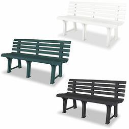 vidaXL Garden Bench Outdoor Bench Chair Garden Yard Furnitur