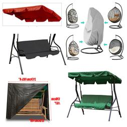 Garden Benches Swing Chair Canopy Outdoor Patio Cover Waterp