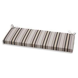getaway stripe bench cushion