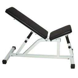 Gym Adjustable Bench Weight Sit Up Incline Abs Home Fitness