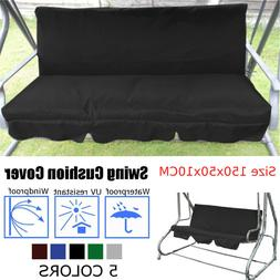 Heavy Duty Cushion Dust Cover for Outdoor Swing Chair 3 Seat