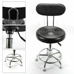 Height-Adjustable Swivel Work Shop Stool Chair Bench Hydraul