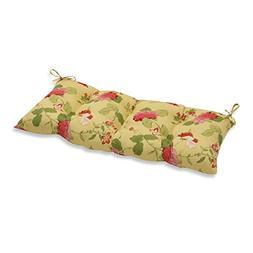Pillow Perfect Indoor/Outdoor Risa Lemonade Swing/Bench Cush