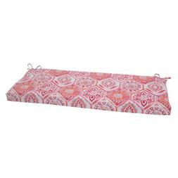 Pillow Perfect Outdoor/ Indoor Summer Breeze Flame Bench Cus