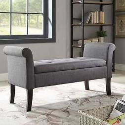 Ivy Charcoal Storage Bench Charcoal