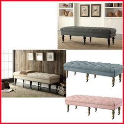 "Linon, Katherine 62"" Bench, 4 Color"
