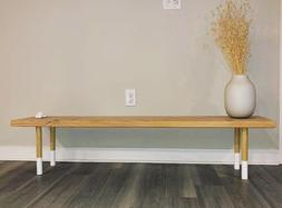 Kitchen Dining Bench Home Dorm Apartment Furniture 2-Seater