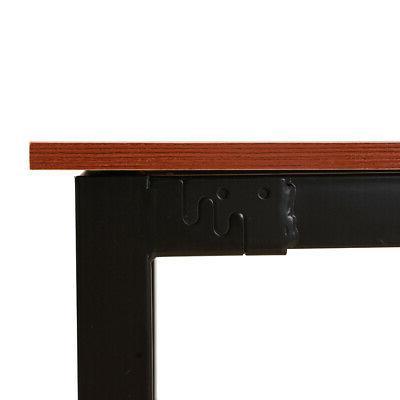 2pcs Dining Frame Benches Kitchen Furniture Teak US