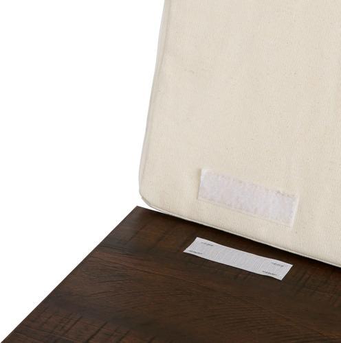 AmazonBasics Entryway Storage with Seat, Espresso