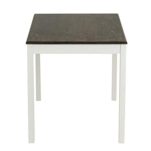 3 Set 2 Pine Wood Kitchen Room Furniture