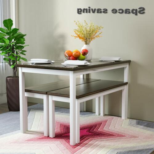 3 Set Pine Wood Room Furniture