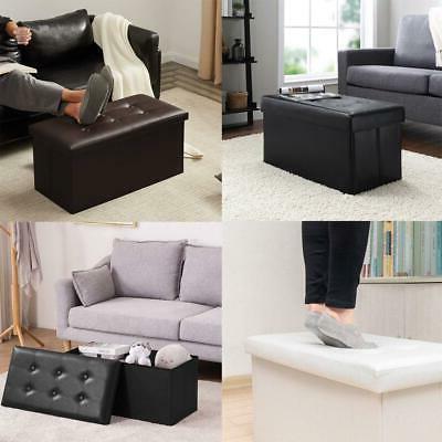 30 folding ottoman bench storage stool box