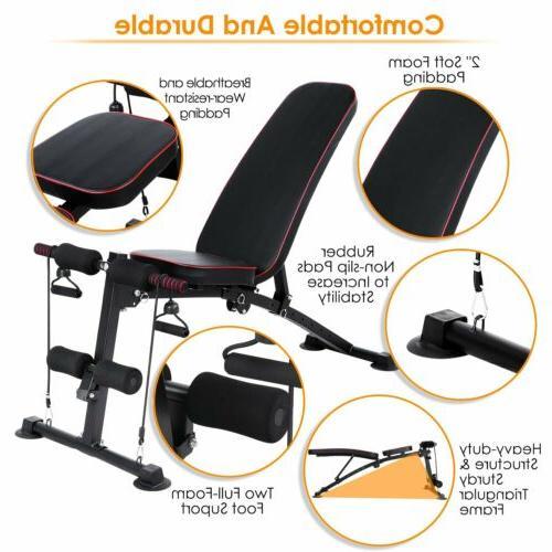 330LBS Adjustable Folding Gym