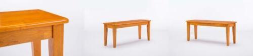 36136 shaker bench oak