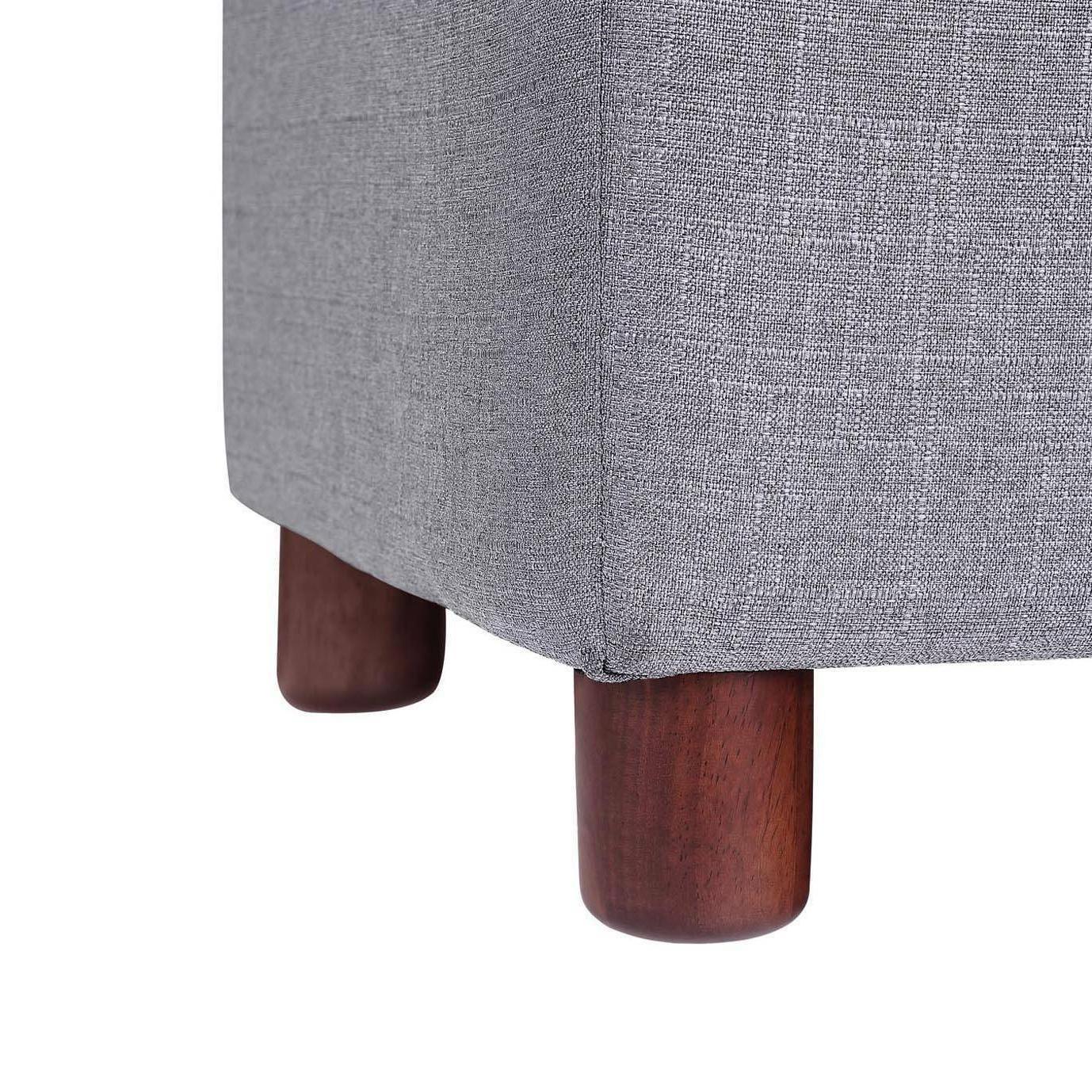 39'' Storage Tufted Linen Storage Bench,