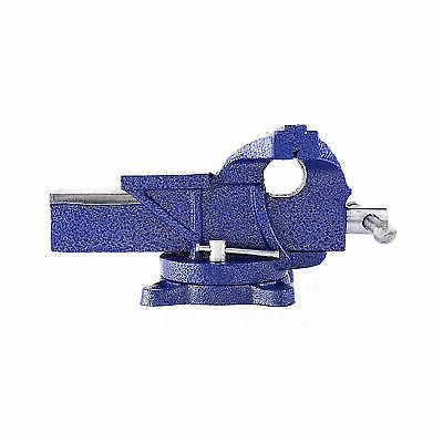 """5"""" Heavy Bench Vice Clamp Jaw Swivel Base Table"""