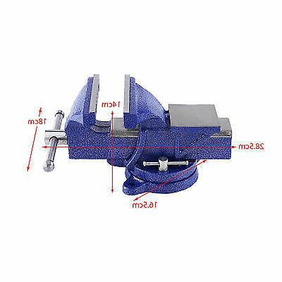 """5"""" Bench Vice Clamp Engineer Jaw Base Table"""
