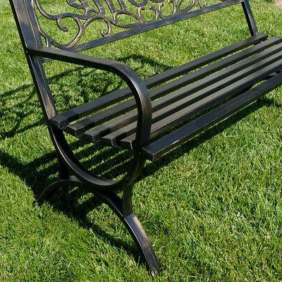 "50"" Decorative Garden Seat"
