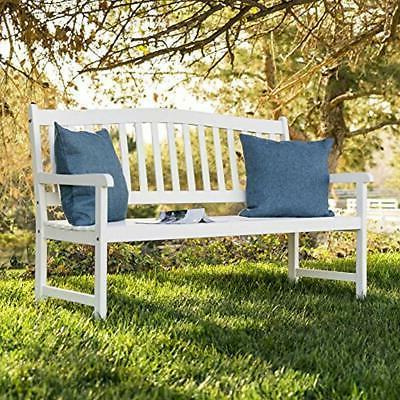 60 Inches Wood Outdoor Patio, Backyard,