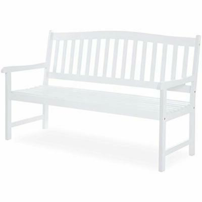 60 inches classic acacia wood outdoor bench
