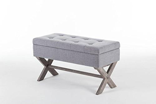 Boraam Angelina Upholstered Storage