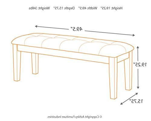 Ashley Furniture - Upholstered Room Bench
