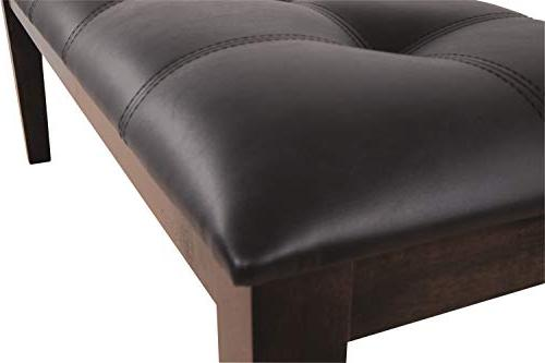 Ashley Furniture Room - Tufted Brown