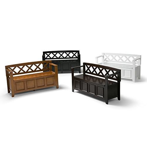 Simpli Home - Entryway Storage White